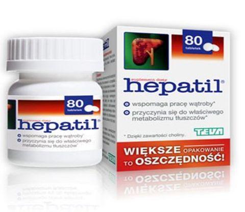 HEPATIL x 80 tabletek