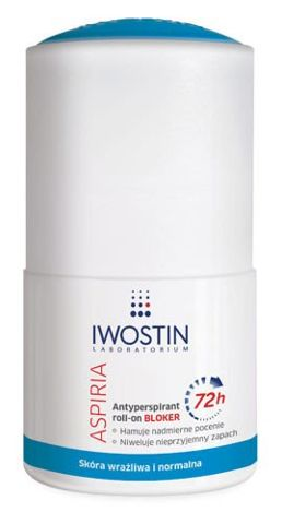 IWOSTIN Aspiria Bloker 72h roll-on 50ml