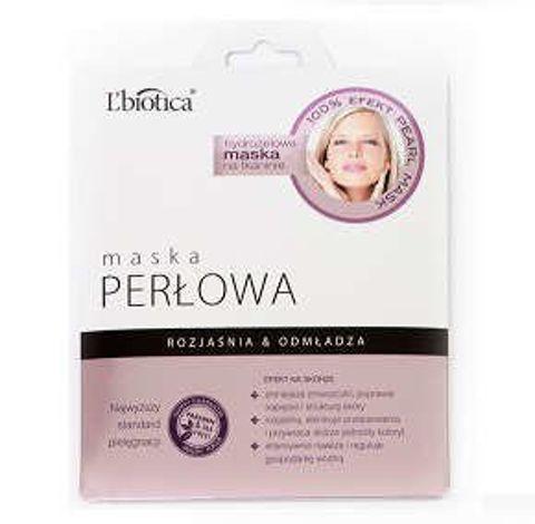 L'biotica Maska perłowa na tkaninie 25g