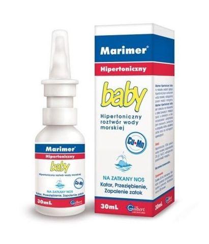 MARIMER Baby hipertoniczny spray 30ml