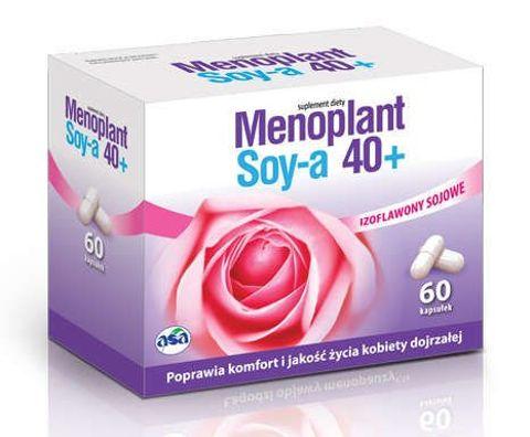 MENOPLANT Soy-a 40+  x 60 kaps.