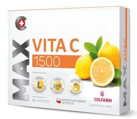 Max Vita C 1500 x 10 kapsułek