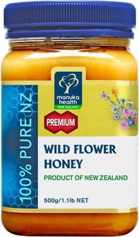 Miód Nektarowy Wielokwiatowy Wild Flower 500g
