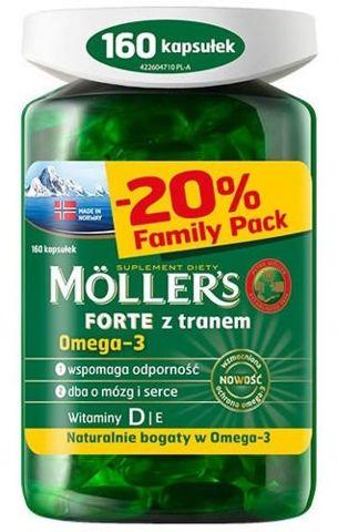 Moller's Forte x 160 kapsułek