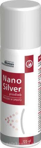 NanoSilver prodiab proszek w sprayu 125ml