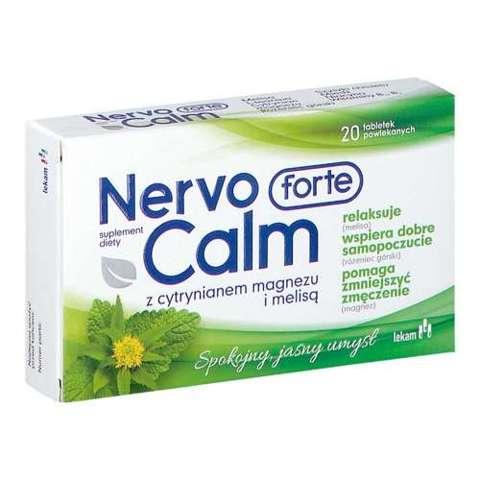 NervoCalm Forte x 20 tabletek