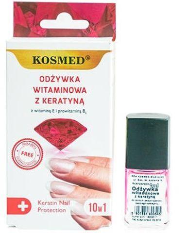 ODŻYWKA Do paznokci witaminowa z keratyną 9ml