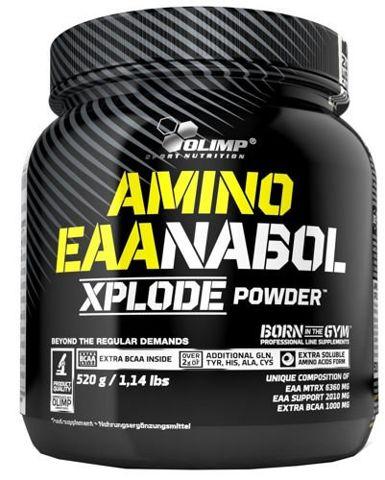 OLIMP Amino EAAnabol Xplode 520g ananasowy - data ważności 26-11-2019