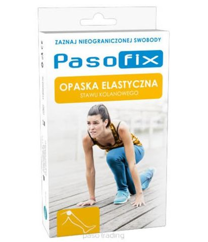 PASO-FIX Opaska elastyczna stawu kolanowego rozmiar XL x 1 sztuka