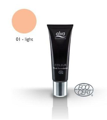 PŁYNNY podkład Fluid 01 - Light 30 ml