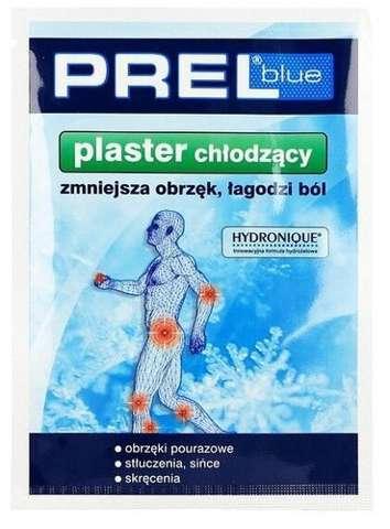PREL Blue plaster chłodzący 3szt.