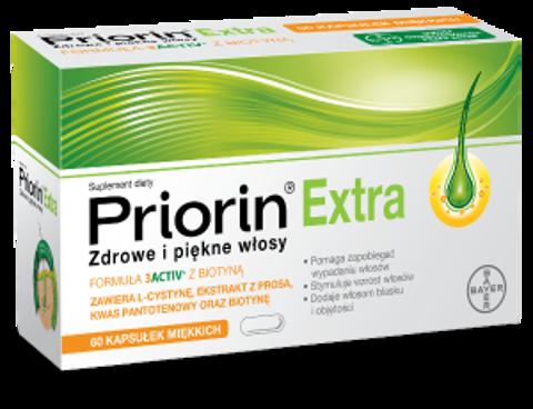 PRIORIN EXTRA x 60 kapsułek