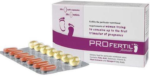 PROFertil female 28 tabletek + 28 kapsułek