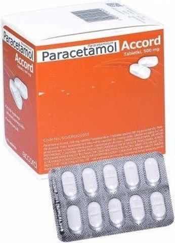 Paracetamol 0,5g x 100 tabletek