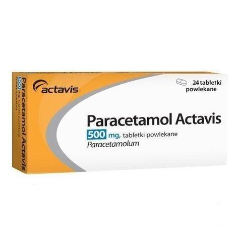 Paracetamol Actavis 500mg x 24 tabletki
