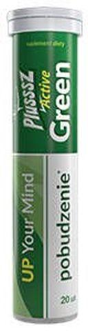 Plusssz Active Green x 20 tabletek musujących