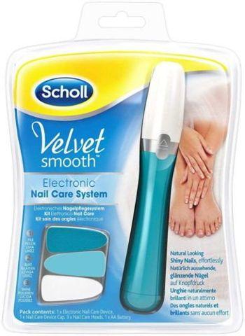 SCHOL Velvet Smooth Elektroniczny system do pielęgnacji paznokci x 1 sztuka