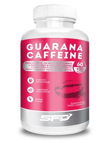 SFD Guarana Coffeine x 90 tabletek