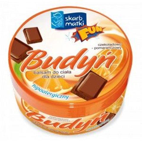 SKARB MATKI Budyń czekoladowo-pomarańczowy Balsam do ciała 140ml