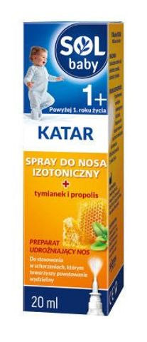 SOLBABY KATAR Spray do nosa 20ml