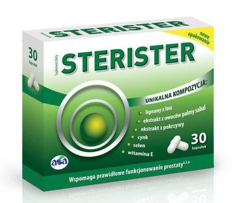 STERISTER x 30 kapsułek - data ważności 31-10-2019r.
