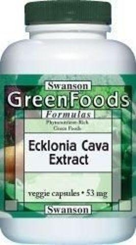 SWANSON Ecklonia cava ekstakt 53mg x 30 kapsułek