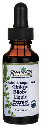 SWANSON Ginkgo Biloba Liquid Extract 29,6ml