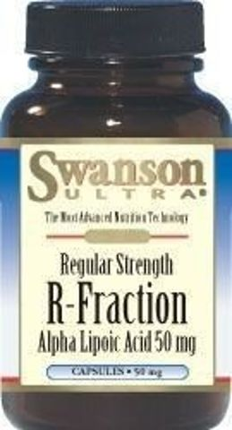 SWANSON R-ALA (kwas R-alfa liponowy) 50mg x 60 kapsułek