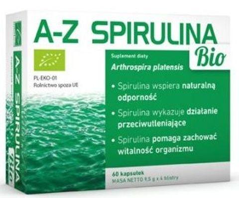 Spirulina Bio x 60 kapsułek