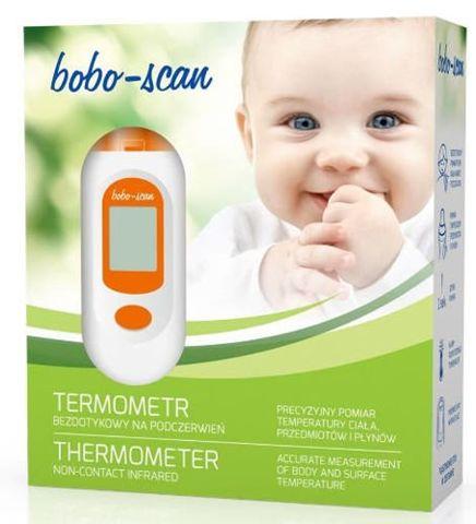 Termometr bezdotykowy BOBO-SCAN na podczerwień x 1 sztuka