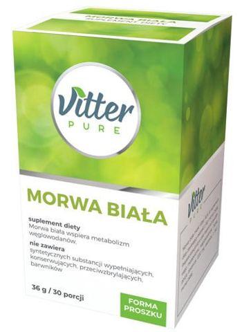 VITTER PURE Morwa biała 36g/30 porcji