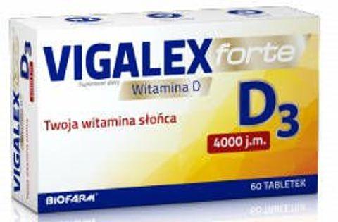 Vigalex D3 Forte x 60 tabletek