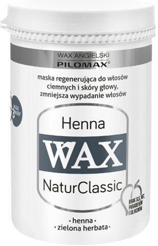 WAX Pilomax NaturClassic Henna maska regenerująca  do włosów ciemnych 480ml